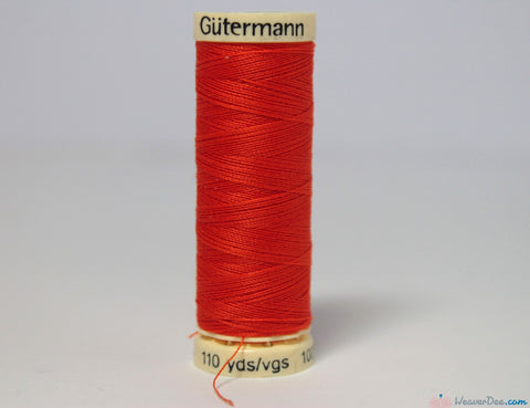 Gütermann - Sew-All Polyester Sewing Thread [351 Orange] - WeaverDee.com Sewing & Crafts - 1