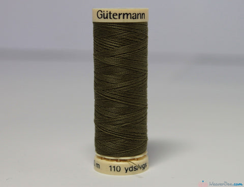 Gütermann - Sew-All Polyester Sewing Thread [432 Dark Jungle Green] - WeaverDee.com Sewing & Crafts - 1