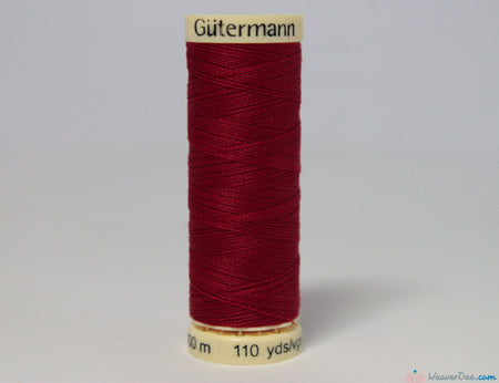 Gütermann - Sew-All Polyester Sewing Thread [46 Red] - WeaverDee.com Sewing & Crafts - 1