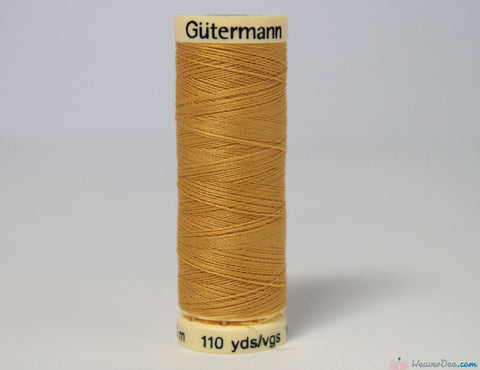 Gütermann - Sew-All Polyester Sewing Thread [488 Camel] - WeaverDee.com Sewing & Crafts - 1
