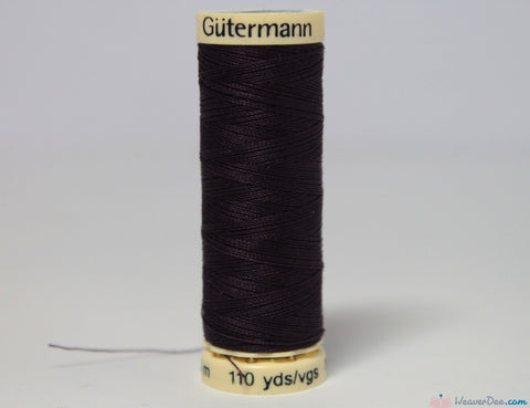 Gütermann - Sew-All Polyester Sewing Thread [512 Midnight Purple] - WeaverDee.com Sewing & Crafts - 1