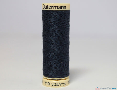Gütermann - Sew-All Polyester Sewing Thread [537 Dark Navy] - WeaverDee.com Sewing & Crafts - 1