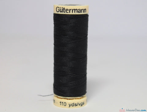 Gütermann - Sew-All Polyester Sewing Thread [542 Darkest Grey] - WeaverDee.com Sewing & Crafts - 1