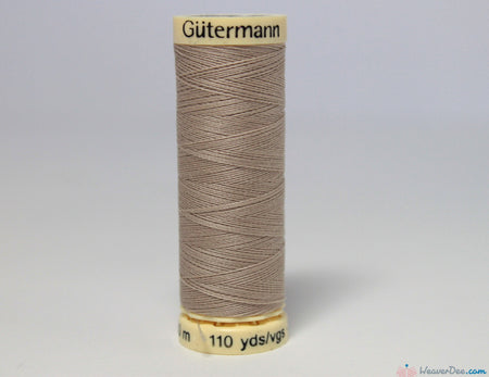 Gütermann - Sew-All Polyester Sewing Thread [722 Taupe] - WeaverDee.com Sewing & Crafts - 1