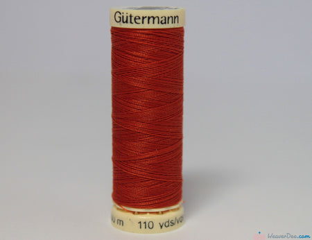 Gütermann - Sew-All Polyester Sewing Thread [932 Red Orange] - WeaverDee.com Sewing & Crafts - 1