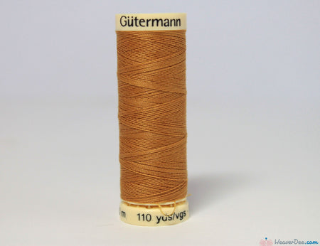 Gütermann - Sew-All Polyester Sewing Thread [968 Golden Tan] - WeaverDee.com Sewing & Crafts - 1