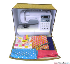 Babylock - Sewing Machine Carry Case (Beige / Brown) - WeaverDee.com Sewing & Crafts - 1