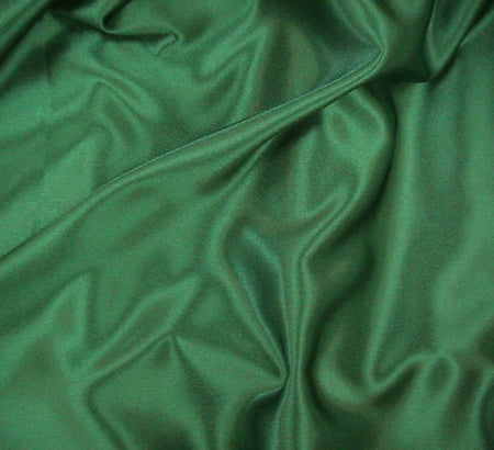 WeaverDee - Liquid Satin Fabric / Bottle Green - WeaverDee.com Sewing & Crafts