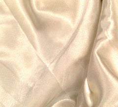 WeaverDee - Liquid Satin Fabric / Ivory - WeaverDee.com Sewing & Crafts