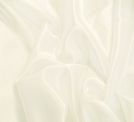 WeaverDee - Liquid Satin Fabric / White - WeaverDee.com Sewing & Crafts