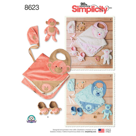7ef8272065f2c Simplicity Sewing Patterns for Babies / Small Infants / Toddlers ...
