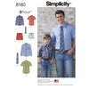 Simplicity - S8180 Boys' & Men's Shirt, Boxer Shorts & Tie - WeaverDee.com Sewing & Crafts - 1