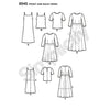 Simplicity Pattern S8545 Misses' / Miss Petite Dress & Top