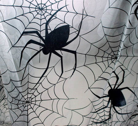 WeaverDee - Large White Spider Web Net Fabric - WeaverDee.com Sewing & Crafts - 1