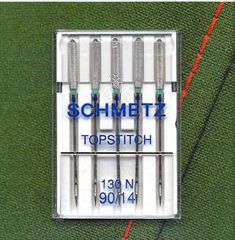 SCHMETZ  Topstitch Machine Needles | Pack of 5