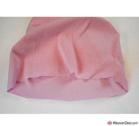 Tubular Ribbing Cotton Fabric - Baby Pink