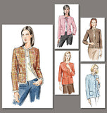 Vogue - V7975 Misses'/Misses' Petite Jacket | Easy - WeaverDee.com Sewing & Crafts - 4