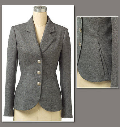 Vogue Pattern V8333 Misses'/Misses' Petite Jacket