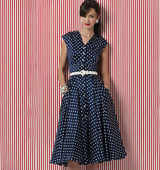 Vogue Pattern V8577 Misses' Dress | Easy
