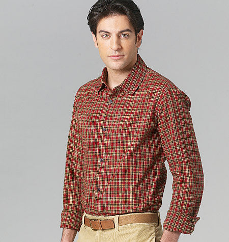 Vogue - V8759 Men's Shirt | Easy - WeaverDee.com Sewing & Crafts - 1
