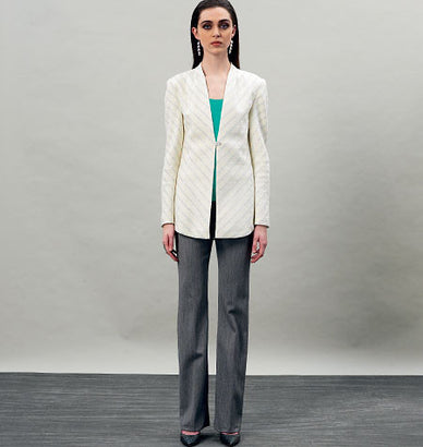 Vogue - V8910 Misses' Jacket | Easy - WeaverDee.com Sewing & Crafts - 1
