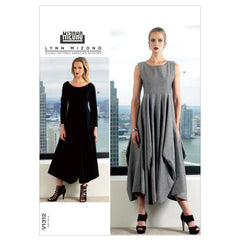 Vogue - V1312 EASY Misses' Dress by Lynn Mizono - WeaverDee.com Sewing & Crafts - 1