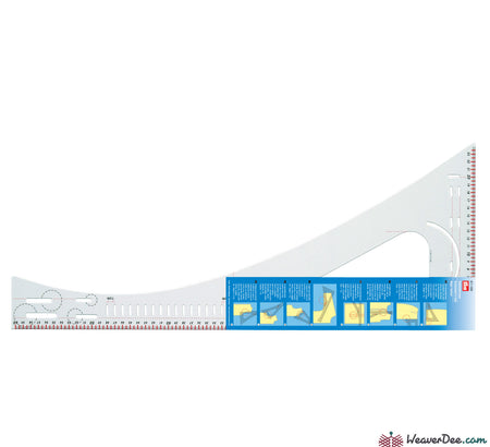 Prym - Dressmaker's Ruler - WeaverDee.com Sewing & Crafts - 1