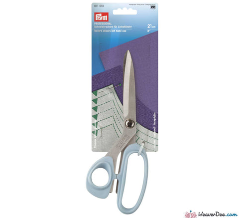 Prym - KAI 21cm LEFT HAND Tailor's / Dressmaker's shears - WeaverDee.com Sewing & Crafts