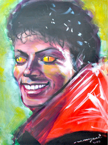 Thriller - Live Painting