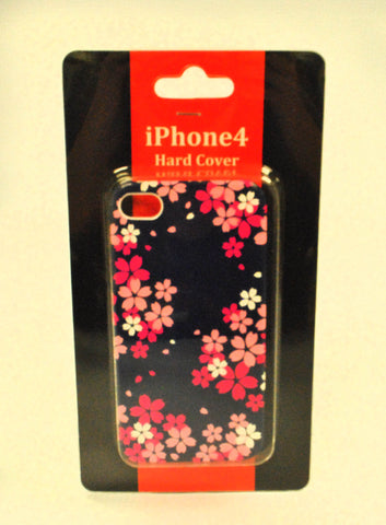 Sakura Blue iPhone 4 Hard Case