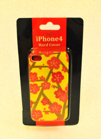 Sakura Yellow iPhone 4 Hard Case