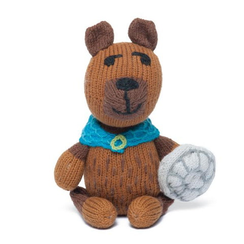 Fredrik the Viking Bear Rattle Buddy