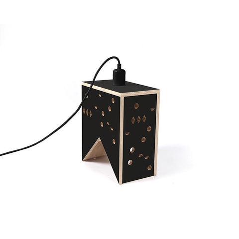Marba Chimney Lampshade-Black