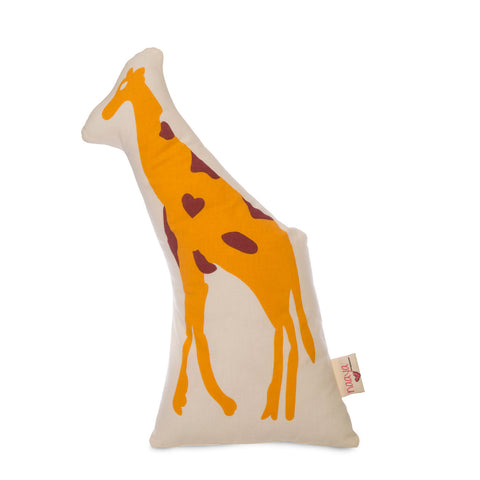 Handmade Cotton Giraffe Cushions