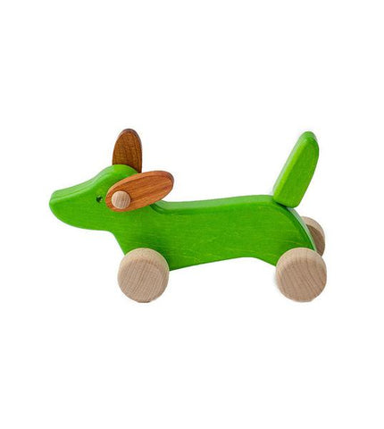 Small Wooden Dachshund for Kate + Sean's Registry