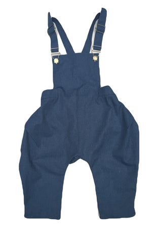 Janis Cropped Overalls