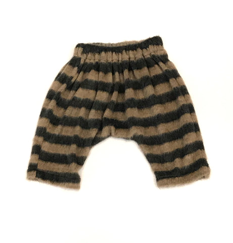 Furry Striped Pants