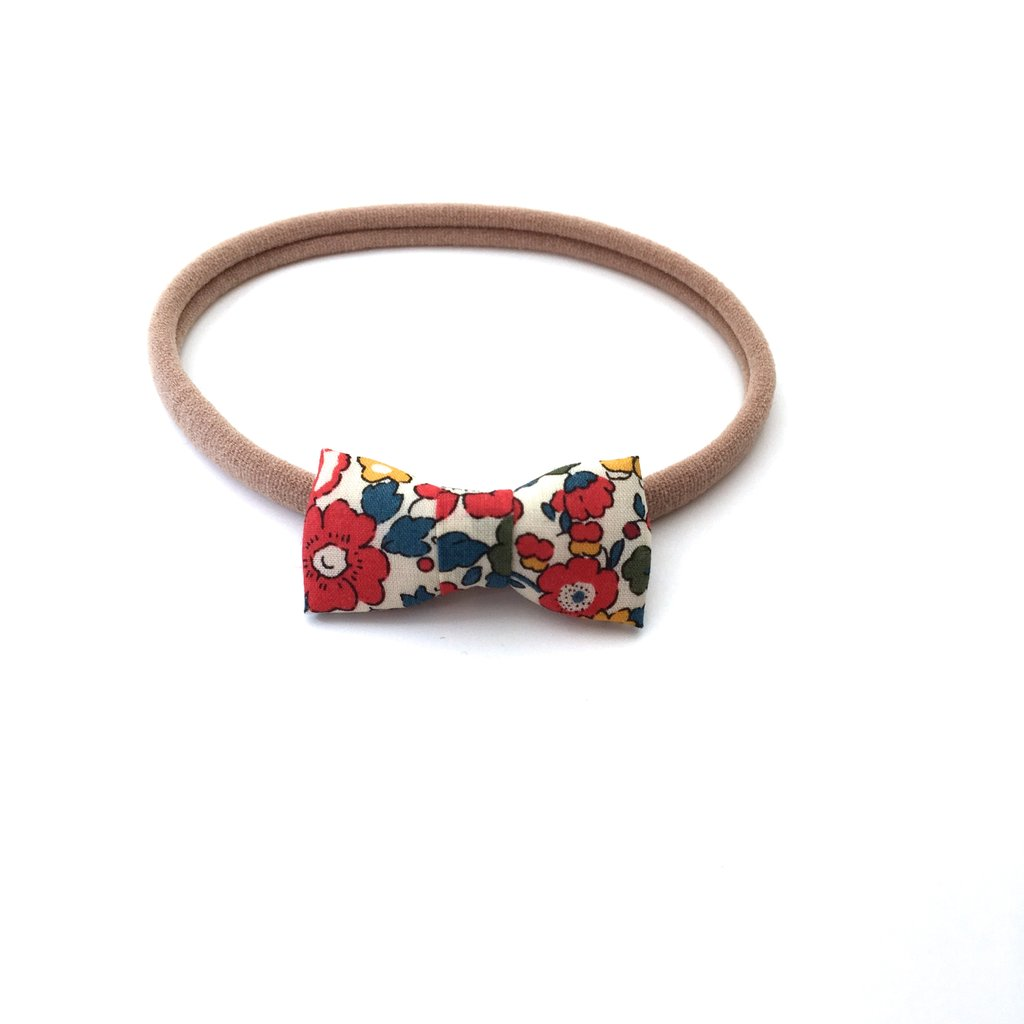 Liberty Itty Bitty Bow Headband, Color Options