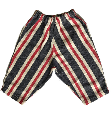 Bermuda Short in Red White and Blue Lacery