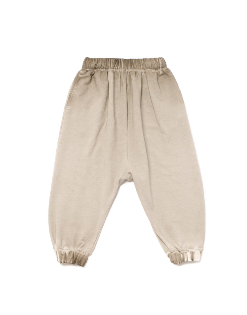 Joggers with Diagonal Back Seam