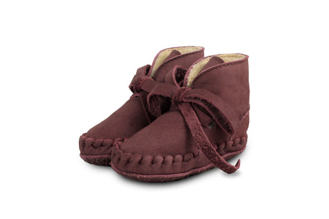 Berry Nubuck Pina with Lining