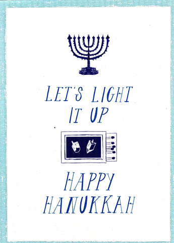 Where are the Matches? Hannukkah Greeting Card