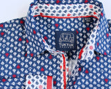 Siam Sailboat in Blue Longsleeve Button Down