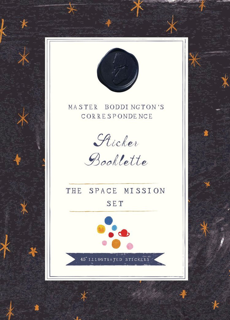 The Space Mission Sticker Booklette
