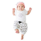 Love Mom White Lap Shoulder Bodysuit