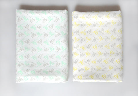 Geometry Bamboo Blankies