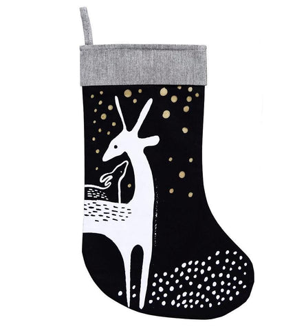 Deer Christmas Stocking