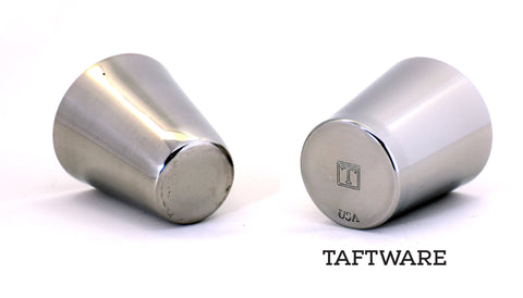Taftware Stainless Steel Shot Glass Bottom