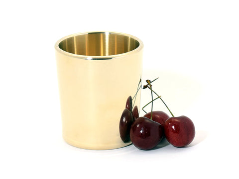 Taftware Brass Metal Tumbler Hand Polished