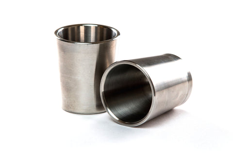 Taftware Titanium Metal Shot Glass Set